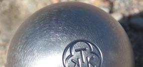 Boules de pétanque Carbone Blanche Aventure KTK