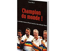 Livre Champion du monde !